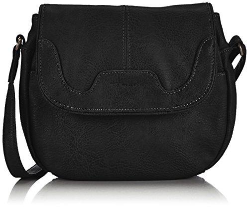 Tamaris LENA Crossover Bag 1006999-001 Damen Umhängetaschen 25x21x8 cm (B x H x T), Schwarz (black 001)