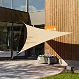 The Patio Shop 12'x12'x12' Triangle Sun Shade Sail