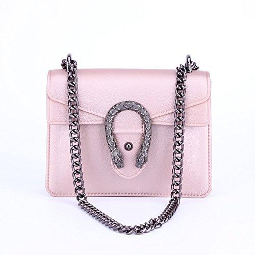 Messenger PVC Amyannie Shoulder Shoulder Ms Pink Jelly Leisure Bag Y57qw5p