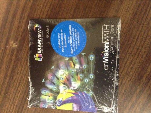 MATH 2012 COMMON CORE EXAMVIEW CD-ROM GRADE 5