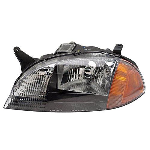 Koolzap For 98-01 Chevy Metro Headlight Headlamp Halogen Head Light Lamp Left Driver Side LH