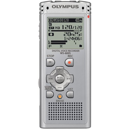 Olympus WS-600S Digital Voice Recorder 142610 (Silver) by Olympus