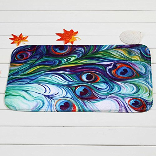 LtrottedJ Mat Outdoor Indoor Antiskid Decor Doormat