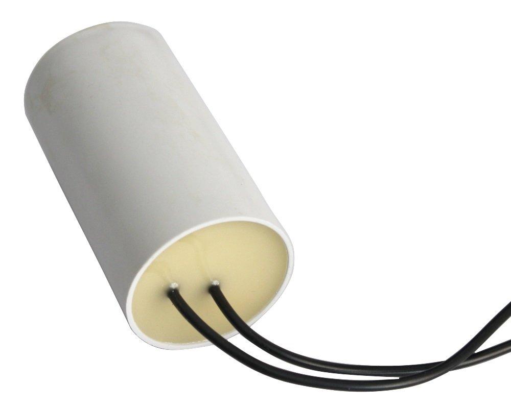 Condensatore di marcia e avviamento motori elettrici monofase 450V a 2/µF C10198 Aerzetix