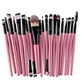 #5: Clearance Deals Makeup Brush Set,ZYooh 2018 Professional Fashion 20pcs Make up Brushes Kits Cosmetic tools Kit Valentine Gift (C)