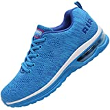 MEHOTO Womens Fashion Lightweight Tennis Walking Shoes Sport Air Fitness Gym Jogging Running Sneakers SkyBlue 8.5 B(M) US