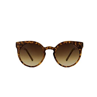 KOMONO Damen Sonnenbrille Lulu Metal Tortoise/Rose Gold Sonnenbrille