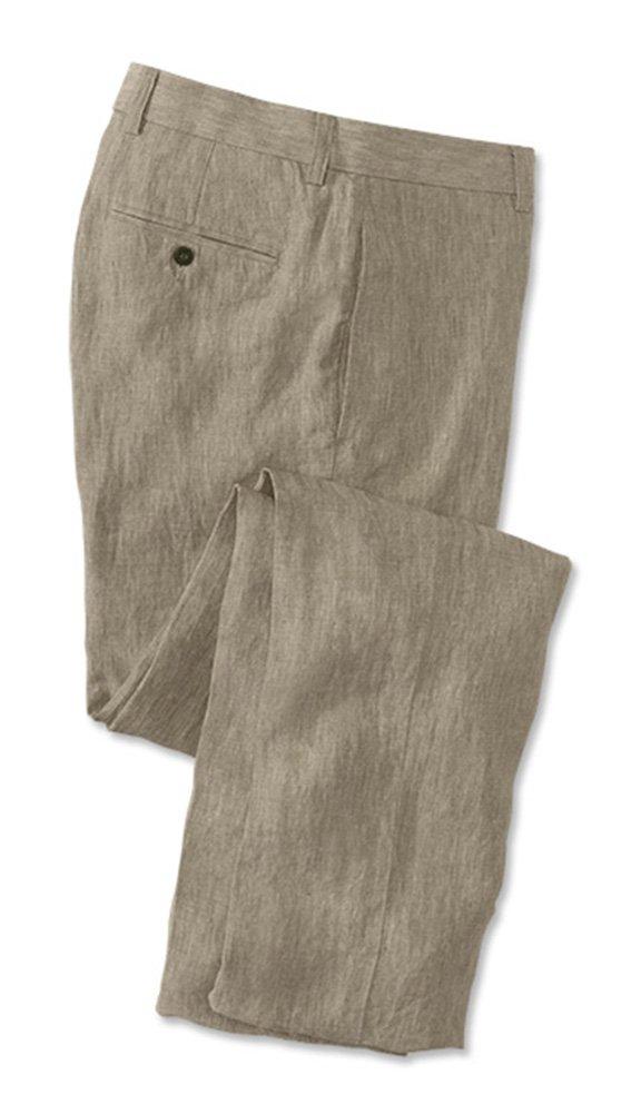 Orvis Men's Cfo Summer Linen Pants, Cuffed, 40W X 32 3/4L