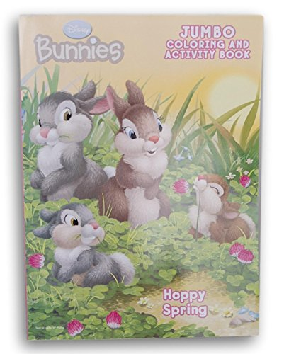 Disney Bunnies Hoppy Spring Coloring and Activity Book - 64 Pages -