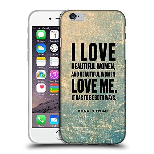 "Super Galaxy Coque de Protection TPU Silicone Case pour // Q04040512 Donald Trump grunge // Apple iPhone 6 PLUS 5.5"""