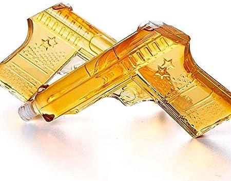 WJJ Botella de Whisky Cristal Glasses Tumbler Whisky Decanter 470ml Tumblers Decantadores Whisky Glass Jarrafe Decanter No-Lead Cristal Whisky Decanter Alcohol Gift Idea 1 / 2pcs (Color: Individual) D