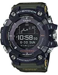 Casio G-Shock Rangeman Green Limited Edition GPR-B1000-1B Watch GPS Navigation Solar Triple Sensor GPRB1000-1B