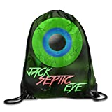 Monsieur Cai Jacksepticeye Logo Unisex Drawstring Shoulder Bag With Strengthened Grommet