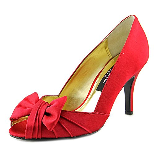 Red Satin Shoes: Amazon.com