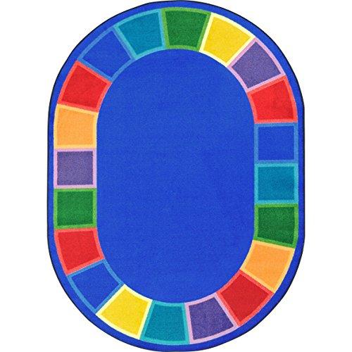 Joy Carpets 1897CC Color Tones Childrens Rugs, CC, Multicolor from Joy Carpets