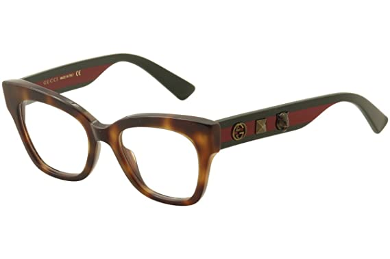 bdd956b3c0976 Amazon.com  Gucci - GG0060O-002 Optical Frame ACETATE  Clothing