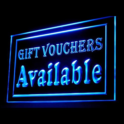 Wedding Gift Vouchers Available Discount Friend Consumer LED Light Signs 200003 Color - Available Gift Vouchers