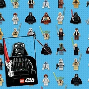 Lego Star Wars - Giftwrap (2 Sheets Folded) And Tags (2) (Lego Star Wars Iv The Clone Wars Ii)