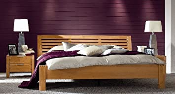 Firstloft 401-0900 Bett, Volo, Erle teilmassiv, Liegefläche 140 x ...