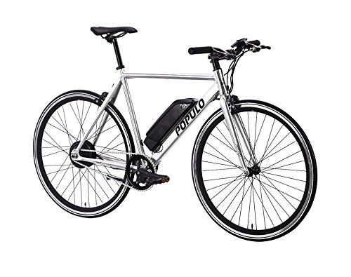Brand New Luxury Populo Sport Electric Bicycle (Polished) (M) (54cm)