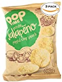 POP TIME Popped Chips – 3 Count (3 oz Bags) Jalapeno – Never Fried, Never Baked, Non-GMO, Preservatives Free, Dairy Free, Nut Free, Gluten Free, 0g Trans Fat, Healthy, Natural Ingredients Review
