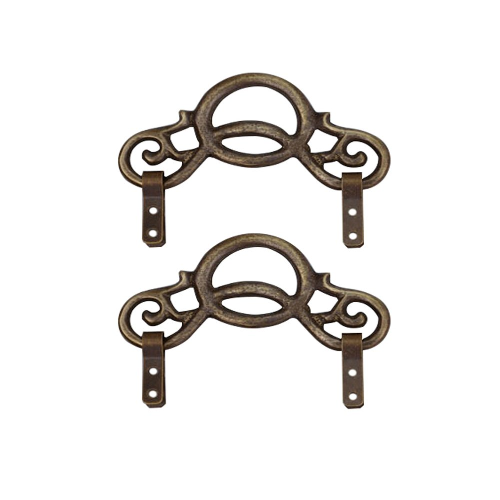Cucumis Hanging Hook And Painting Hook Made Of Copper 2 Pcs (Bronze 9.5cm)