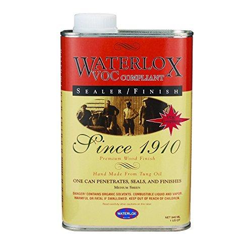 Waterlox Original Sealer Finish, 350 VOC, Quart by Waterlox