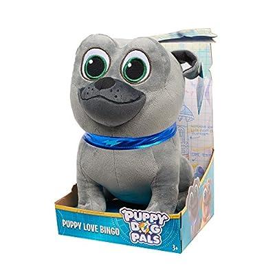 Puppy Dog Pals Medium Plush Bingo, Gray: Toys & Games