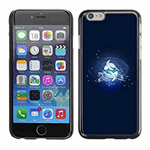 """Shell-Star ( Pisces Fish Zodiac Sign ) Fundas Cover Cubre Hard Case Cover para 5.5"""" iPhone 6 Plus"""