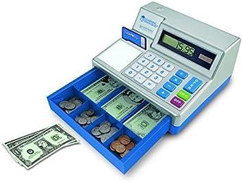 Learning Resources- Caja registradora calculadora con Dinero del ...