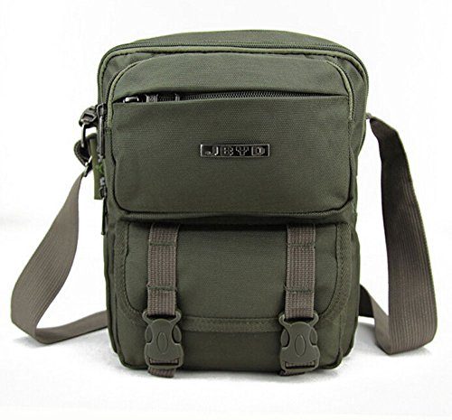 KISS GOLD(TM) Outdoor Leisure Shoulder Bag(Army Green)