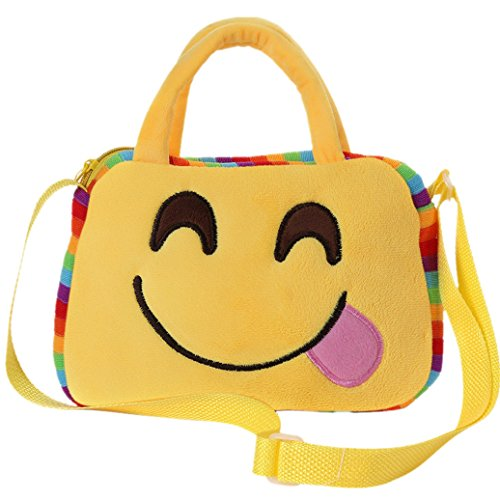 Rucksack New Shoulder Emoji Bag Villus Child Elevin Emoticon TM G 1 School Backpack Handbag Kids Satchel 5F48q8A7nw