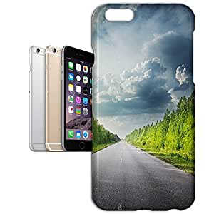 Phone Case For Apple iPhone 6 Plus - Road Through Forest Back Cover