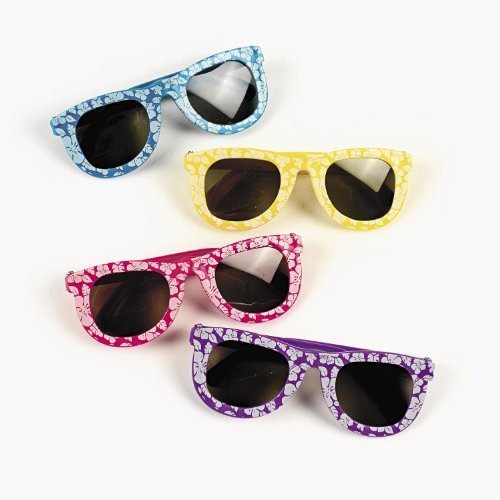 Fun Express Hibiscus Sunglasses (1 dz) -