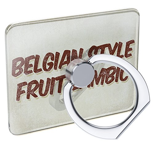 Cell Phone Ring Holder Belgian Style Fruit Lambic Beer, Vintage Style Collapsible Grip & Stand Neonblond