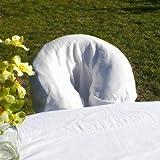 CharmTM 100% cotton face rest cover , Natural, Health Care Stuffs