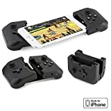 Gamevice Controller – Gamepad Game Controller iPhone X/XS/XS Max/8/7/6 & Plus [Apple MFi Certified] [DJI Spark, Tello, Sphero Star Wars] - 1000+ Compatible Games (2018 Model) – GV157A
