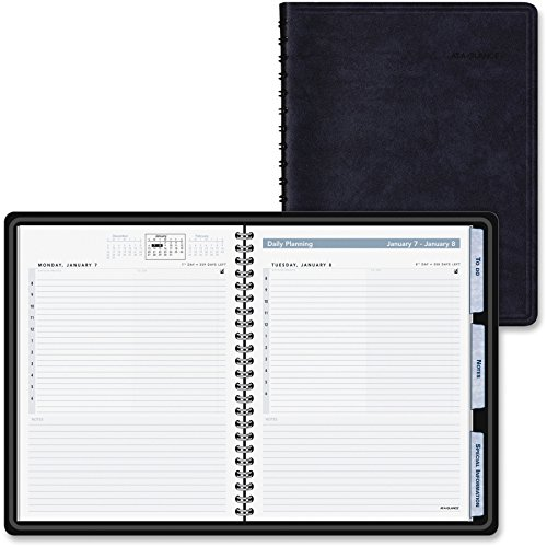 (AT-A-GLANCE Daily Action Planner,Tabbed, 6-7/8