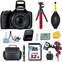 Canon Powershot SX530 HS 16.0 MP Digital Camera with 50x Optical Zoom and 1080p Full HD Video Bundle with Commander 32GB High Speed Memory Card + Card Reader + Deluxe Case + Commander Starter Kit Review Review Image