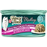 Purina Fancy Feast Medleys White Meat Chicken Florentine Adult Wet Cat Food - (24) 3 oz. Cans