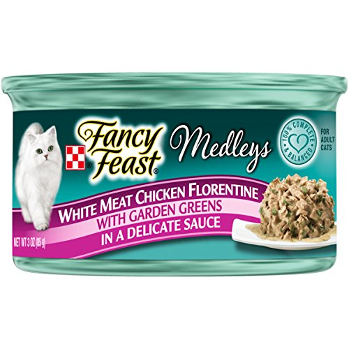 Purina Fancy Feast Medleys Florentine Collection Gourmet Wet Cat Food – (24) 3 oz. Cans
