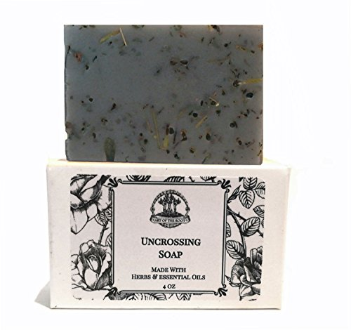 Uncrossing Herbal Shea Soap Bar for Curses & Spells Hoodoo Wiccan Pagan Voodoo