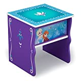 Delta Children Side Table with Storage, Disney Frozen