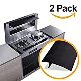 oven gap filler - Silicone Stove Counter Gap Cover by European Partners LLC Easy Clean Gap Filler Sealing Spills Between Kitchen Counter, Appliances ,Stovetop, Oven, Washing Machine, Washer, Dryer Set of 2 Black color
