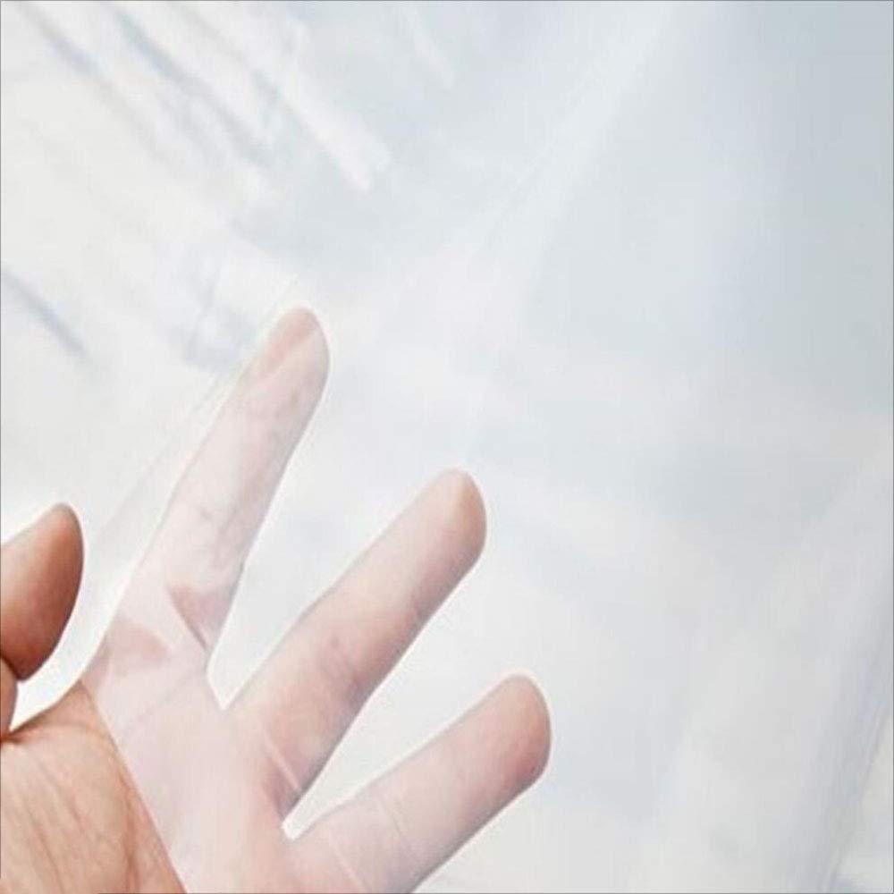 Plane transparente schwere Wasserdichte Kunststoff-Plane Kunststoff-Plane Kunststoff-Plane Schatten Tuch Abdeckung im Freien Farm   Camping Lager 90G   M2 (Farbe   Transparent, größe   4x4m) B07KQDS836 Zeltplanen Verbraucher zuerst 4274f6