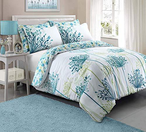 Pieridae Meadow Teal Duvet Quilt Cover + PillowCases (King)