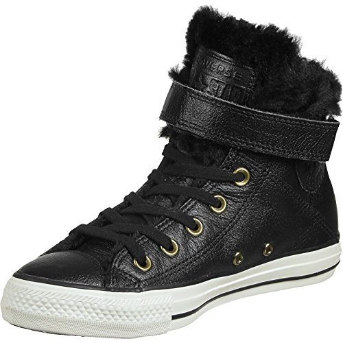 Converse All Star Brea Leather Fur Hi W Calzado black/black