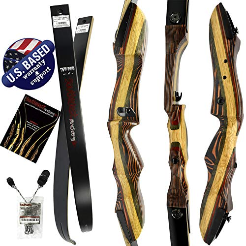 Southwest Archery Tigershark Takedown Recurve Bow - Standard, 25L