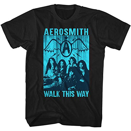Homme Groupe This Américain Walk Pour American shirt De Tee Rock Album Classics Aerosmith Way g5xwq6OH