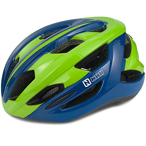 NHH Adult Bike Helmet - CPSC-Compliant Bicycle Cycling Helmet Lightweight Breathable and Adjustable Helmet for Men and Women Commuters and Road Cycling